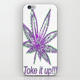Toke It Up iPhone Skin