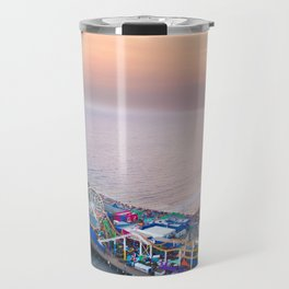 Santa Monica Pier Travel Mug