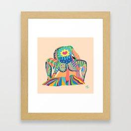 SIT ON IT! Framed Art Print