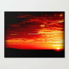 Sunrise @ Apollo Bay Canvas Print