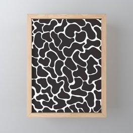 80s Memphis Cow Framed Mini Art Print