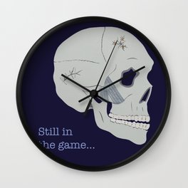 Still in the game Wall Clock