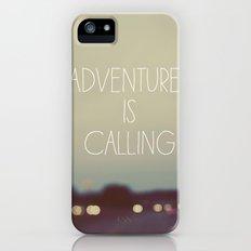 Adventure is Calling Slim Case iPhone (5, 5s)