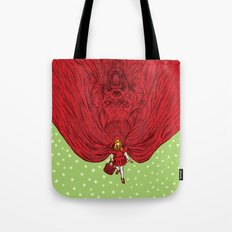 Going to Grandmother's House Tote Bag