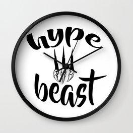 Hype Beast Wall Clock