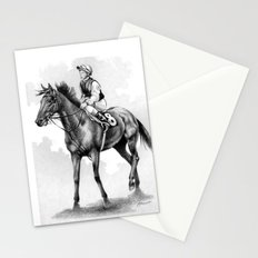 About To Play Up - Racehorse Stationery Cards