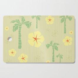 Midcentury Tiki Print Hawaii Retro Vintage Cutting Board