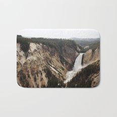 YELLOWSTONE WATERFALLSS Bath Mat