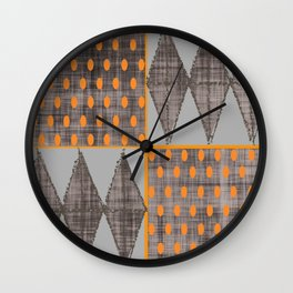 Steppin' Stoneware Wall Clock