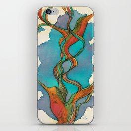 Vuelo de colibrí. 7 iPhone Skin