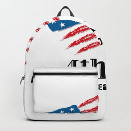 4th July Independence Day (black). Independence Day 4 July Backpack