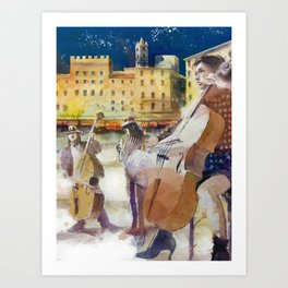 Magica Siena Art Print