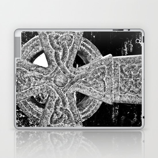 Celtic Cross Laptop & iPad Skin
