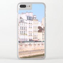 Bright Paris Clear iPhone Case