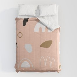 Modern Abstract Art Pattern 1 Comforters