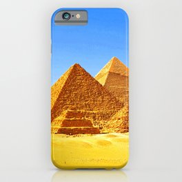 The Pyramids At Giza iPhone Case