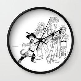 OPC Bastille Wall Clock
