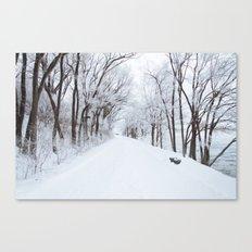 Winter Memories Canvas Print