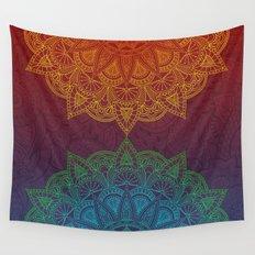 Mandala - twins Wall Tapestry