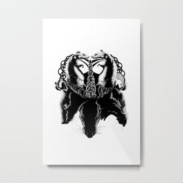 When the Rat Spoke Metal Print