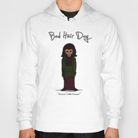 planet of the apes Hoodies featuring bad hair day no:1 / Planet of the Apes by niles yosira