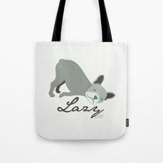 Lazy Dog Tote Bag