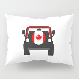 Jeep  'CANADA' rearview Pillow Sham
