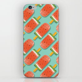 Watermelon Popsicles Pattern #society6 #decor #buyart iPhone Skin