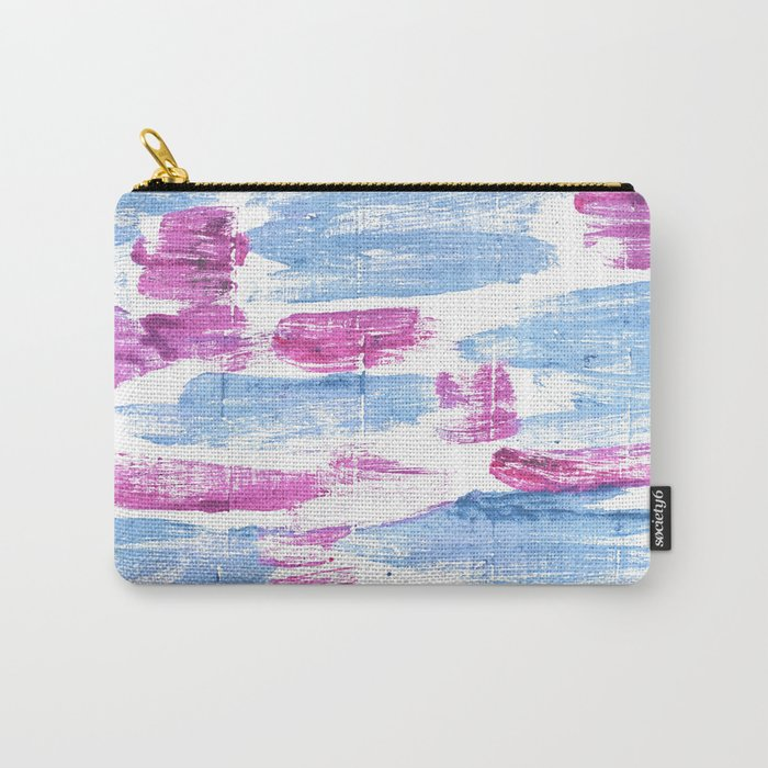 Violet blue Carry-All Pouch