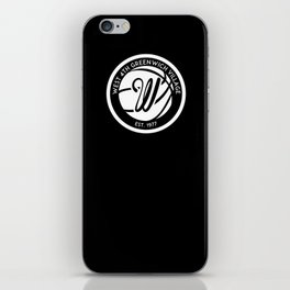 """West 4th """"The Cage"""", Greenwich Village, New York City Basketball iPhone Skin"""