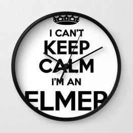 I cant keep calm I am an ELMER Wall Clock