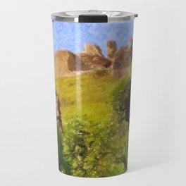 Corfe Castle Travel Mug