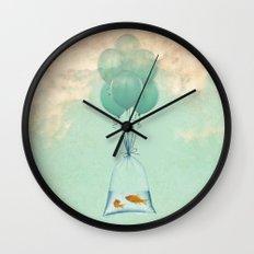 flight to freedom Wall Clock