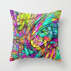 Go With The Flow Throw Pillow