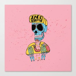 Taco Time Canvas Print