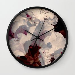 On the White Cloud Wall Clock