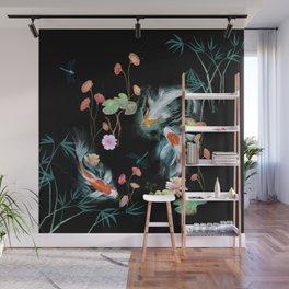 Japanese Water Garden Wall Mural