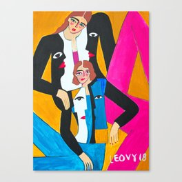 Picasso Jacket Canvas Print