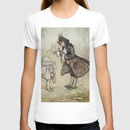 "Arthur Rackham Fairy Art from ""The Little White Bird"" T-shirt"