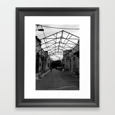 Gated Ceiling Framed Art Print