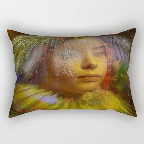 Wait your smile Rectangular Pillow