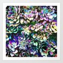 Colorful Abstract Plants by perkinsdesigns