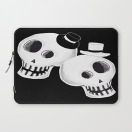Dapper Skulls Laptop Sleeve
