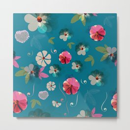 Floral Illustration Metal Print