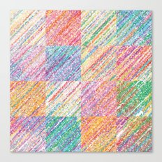 Delightful Spectrum Canvas Print