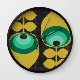 MCM Hoodwinked Grey Wall Clock