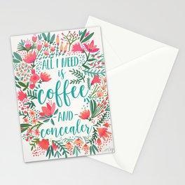 Coffee & Concealer – Juicy Palette Stationery Cards