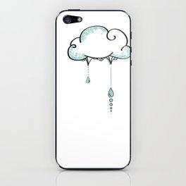 Cloudy iPhone Skin