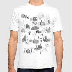 Little Village Mens Fitted Tee MEDIUM White