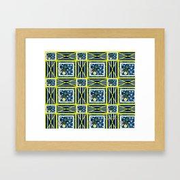 Glow Bugs. Framed Art Print